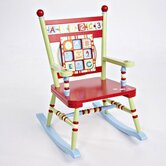 Alphabet Soup Kid's Rocking Chair