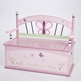 Sugar Plum Kid's Storage Bench