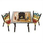 Wild West Kids' Table and Chair Set