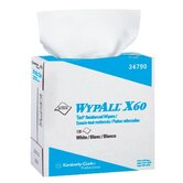 WypAll&reg; X60 Wipers - 9.1x16.8 terry wiper wipes 126 sh. per box