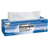 Kimtech Science&reg; Kimwipes&reg; Delicate Task Wipers - 12&quot;x 12&quot; pop-up box kaydry ex-l delicate ta