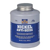 Nickel Anti-Seize Lubricants - #771 nickel anti-seize 1lb brush top bottle