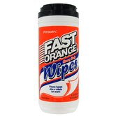 25 Count Heavy-Duty Fast Wipe in Orange