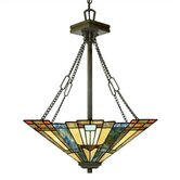 Inglenook 3 Light Inverted Pendant