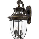 "24"" Georgetown Outdoor  Wall Lantern in Imperial Bronze"