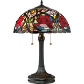 Larissa Tiffany Table Lamp in Vintage Bronze