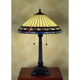 Estacado Tiffany  Table Lamp in Vintage Bronze