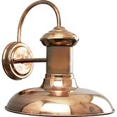 Brookside CopperOutdoor Wall Lantern