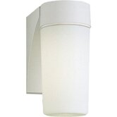 28w Hard-Nox Compact Fluorescent Outdoor Wall Lantern in White