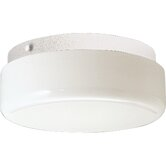 "9"" Contoured Cloud Semi Flush Mount"