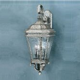 Astoria  Outdoor Sconce Lamp in Silver Slate