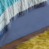 Colorful Sea Full Bed Skirt