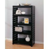 Devine Four Tier Shelf in Black
