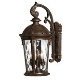 Windsor Outdoor Wall Lantern in River Rock