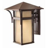 Harbor Outdoor Wall Lantern in Anchor Bronze with Energy Saving Option
