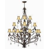 Veranda 16 Light Chandelier
