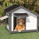 ProConcepts Cozy Cottage Dog House in Gray