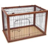 Wooden Pet Crate 90-60 Combo