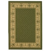 Courtyard Classic Border Rug