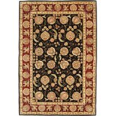 Persian Court Black/Red Gem Rug