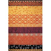 Rodeo Drive Collage Rust/Gold Rug