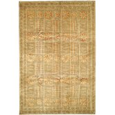 Tibetan Green/Peach Nomadic Rug