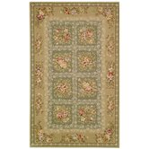 French Tapis Green/Sand Rug