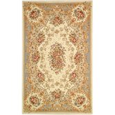 French Tapis Green/Beige Rug