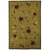 French Tapis Linen/Olive Rug