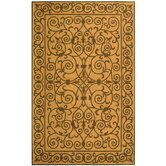 Chelsea Yellow Iron Gate Rug
