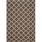 Dhurries Brown/Ivory Rug