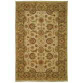 Old World Ivory/Green Rug