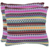 Mckenzie Burst Decorative Pillows (Set of 2)