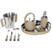 Brass / Rope Bartender Set