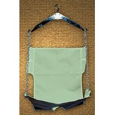 Standard Patient Lift Sling with Optional Commode Cut-Out
