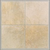 "Egyptian Stone 13"" x 13"" Floor Tile in Ramses White"