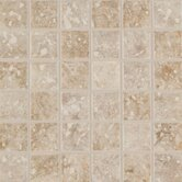 Steppington 2&quot; x 2&quot; Decorative Mosaic in Baronial Beige and Traditional Taupe Blend