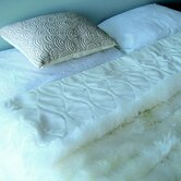 Lambskin Minx Throw