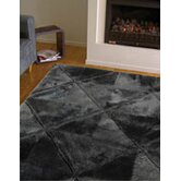 Shortwool Design Black Rug