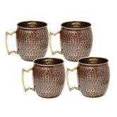 Moscow Hammered Mule Mug (Set of 4)