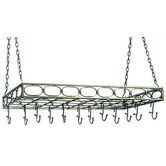 Rectangular Hanging Pot Rack