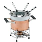 3 in 1 Decor Copper Fondue Set