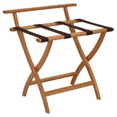 Wooden Mallet Luggage Racks