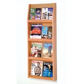 Wooden Literature Racks