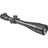 "6-24x44 IR, Riflescope, Black Matte, 30mm, with 5"" Shade and 5/8"" Rings, IR Mil-Dot"