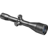 6x42 Euro-30 Riflescope, Black Matte, 30mm, 4A, 5/8&quot; Rings