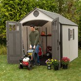 Premium Plastic Garden Shed
