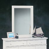 Harbor View Mirror in Distressed Antiqued White