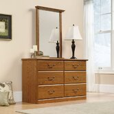 Orchard Hills Mirror in Carolina Oak