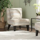 Deva Jade Fabric Slipper Chair (Set of 2)